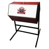 EME - Harlequin Customised Raffle Drum, Large with Floor Stand